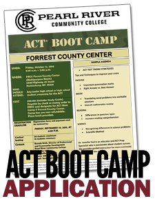 ACT Boot Camp - Forrest County Center